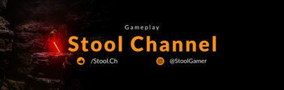 Twitch Banner Maker for Game Streaming Channel 599
