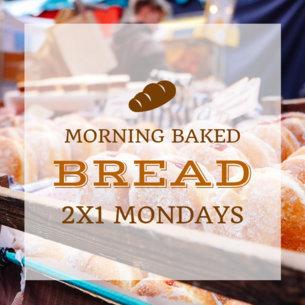 2x1 Bakery Promo Ad Banner Maker 382e