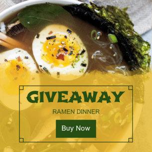 Banner Maker for Restaurant Giveaway 364d