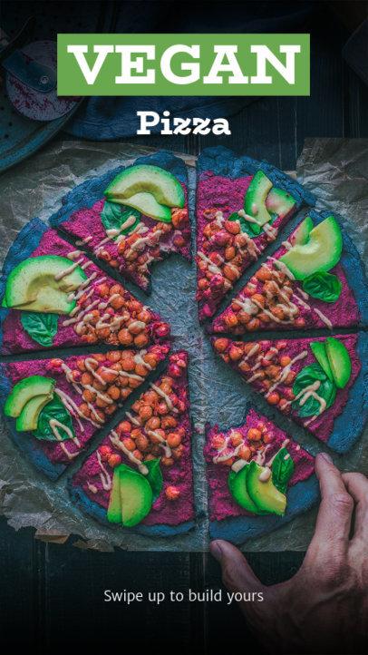 Instagram Story Template for Vegan Foodies 2598b