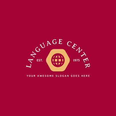 Language Center Logo Generator 1365a