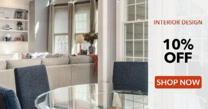Interior Design Sale Banner Creator 534a