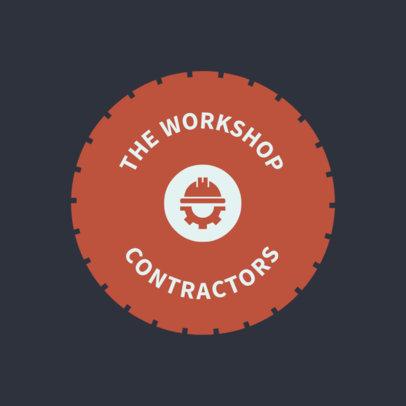 Contractor Workshop Logo Creator 1428e