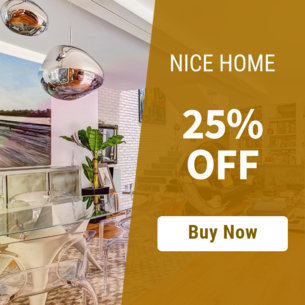 Online Banner Template for Home Furniture Sale 534d