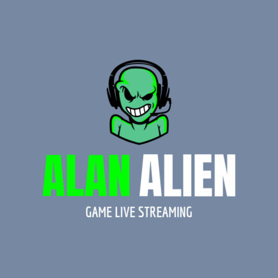 Gaming Live Stream Channel Avatar Logo Maker 1323e