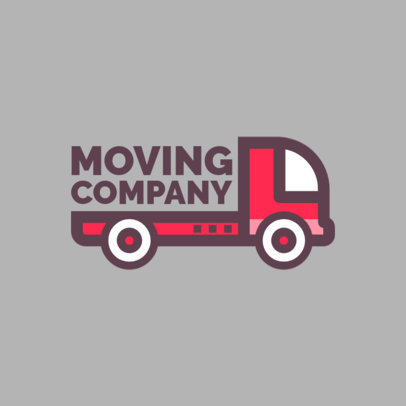 Moving Agencies Logo Template 1386e