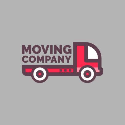 Moving Agencies Logo Template 1386e
