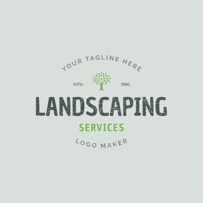 Landscaping Services Logo Template 1426