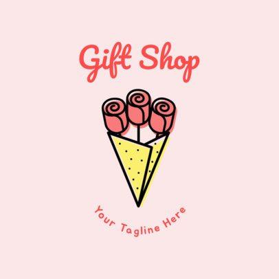 Gift Boutique Logo Design Template 1396a