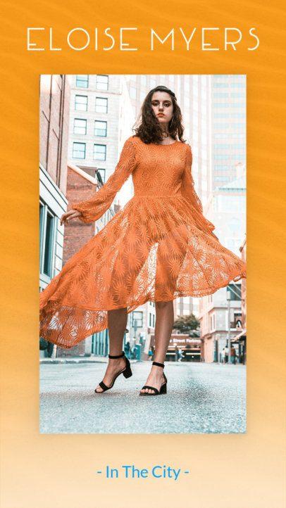 City Fashion Insta Story Maker 591a