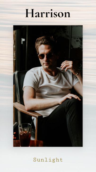 Sunglasses Promotional Instagram Story Maker 591e