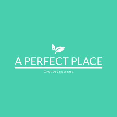 Creative Landscaping Business Logo Maker 1424