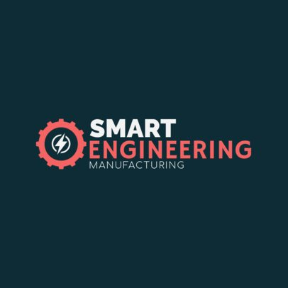 Engineering and Manufacturing Logo Template 1417e