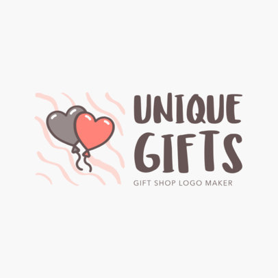 Logo Maker for Unique Gift Store 1397e