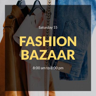Fashion Bazaar Instagram Post Creator 634b