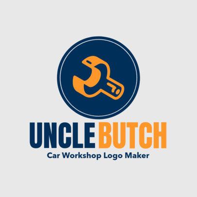 Car Workshop Online Logo Maker 1407