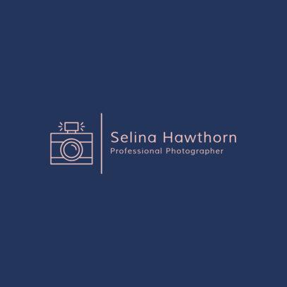 Photography Logo Design Creator 1498a