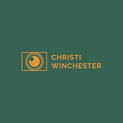 Minimalist Logo Maker for Photographers