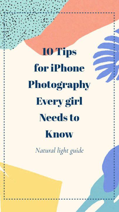 Photography Tips Instagram Story Maker 609b