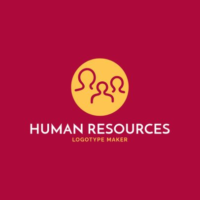 Logo Maker for HR Agencies and Firms 1444a