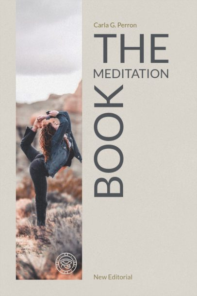 Book Cover Maker for a Meditation Book 545