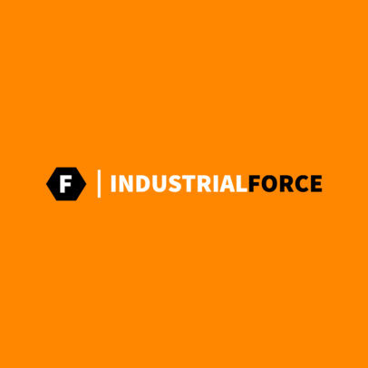 Logo Creator for Industrial Businesses 1416d