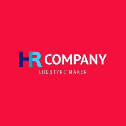 HR Company Logo Generator 1445a