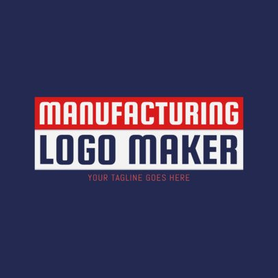 Manufacturing Technology Logo Maker 1418c
