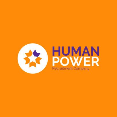 Online Logo Generator for Recruitment Companies 1449a