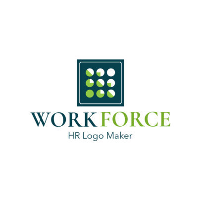 HR Workforce Logo Maker 1449b
