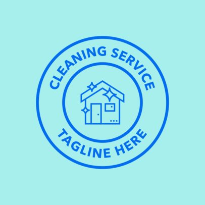 Cleaning Service Provider Logo Maker 1453