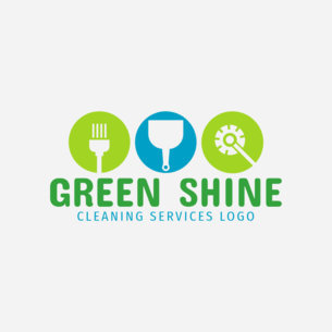 Industrial Cleaning Service Logo Creator 1456b
