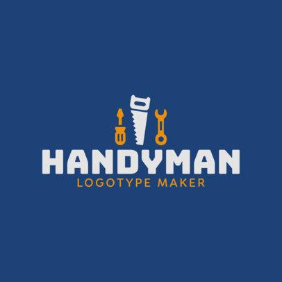 Handyman Logo Template 1429