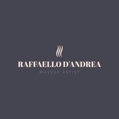 Makeup Artist Logo Maker 1465