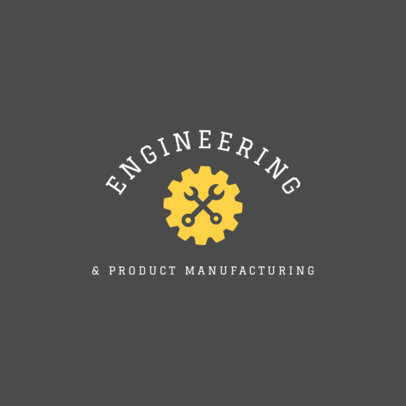 Product Manufacturing Company Logo Maker 1415d