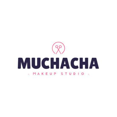Makeup Studio Logo Maker 1465e
