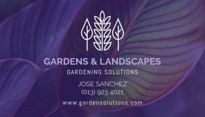 Gardening Business Card Maker 647e
