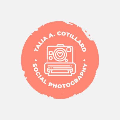 Social Photography Online Logo Maker 1438e