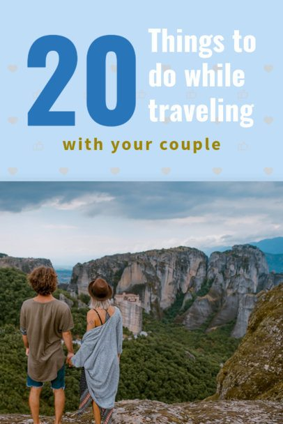 Travel Tips Pinterest Template 633a