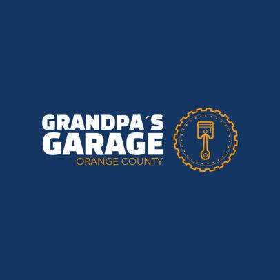 Motor Garage Logo Template d1407