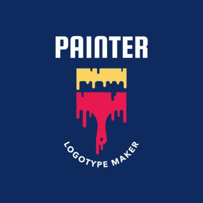 Painter Logotype Maker 1442a