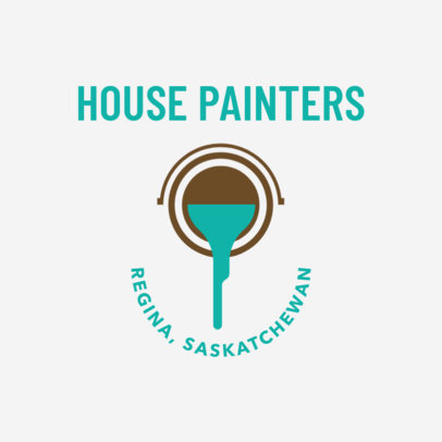 House Painting Services Logo Maker 1442c