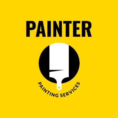 Painting Services Logo Maker 1442d