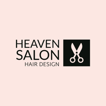 Hair Design Salon Logo Template 1470