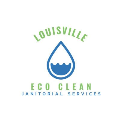Logo Maker for Sustainable Cleaning Services 1454b