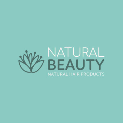 Logo Template for Natural Hair Products 1470b