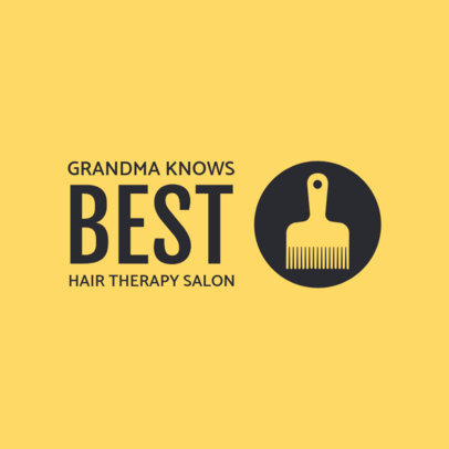 Hair Therapy Logo Maker 1470e
