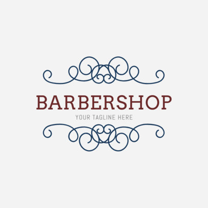 Logo Maker for a Barbers Shop 1472b
