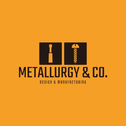Industrial Design Logo Maker 1414a