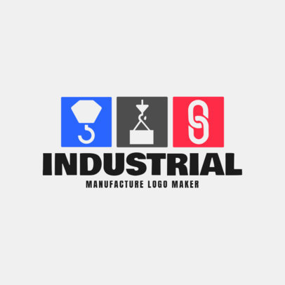 Logo Creator for Industrial Manufacturing 1414d